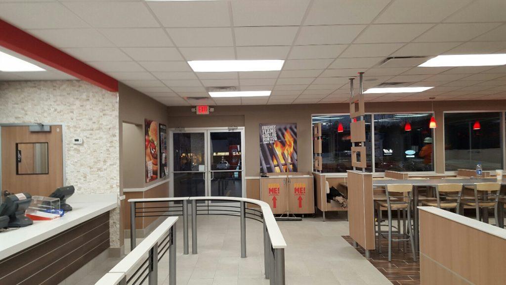Burger King Remodel  Frasier Contracting