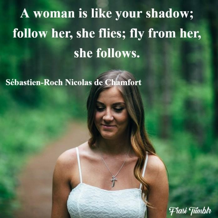 frasi-donne-inglese-donna-ombra-insegui-scappa