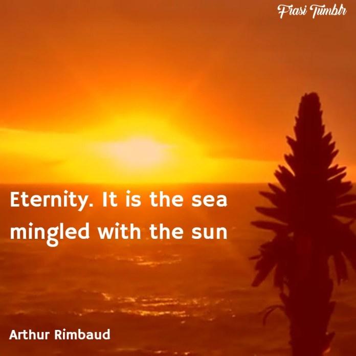 frasi-tramonto-inglese-eternità-mare-sole