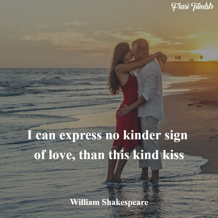 frasi-inglese-shakespeare-bacio-amore