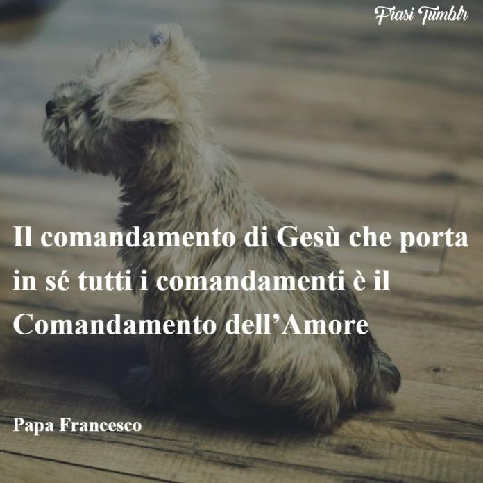 frasi-papa-francesco-amore-umiltà-coraggio-comandamento-amore