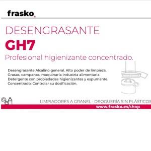 Desengrasante GH7 a granel