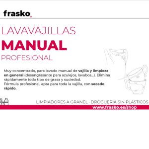 Lavavajillas manual Pro a granel