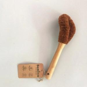 Cepillo de fregar sin plástico BAMBAW