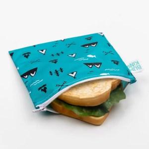 Bolsa reutilizable para snack- dibujos naturaleza BUMKINS