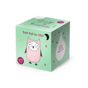 Bola de baño ecológica con juguete ZUZE & FRIENDS