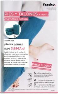 Catálogo: Cuidado natural para pies