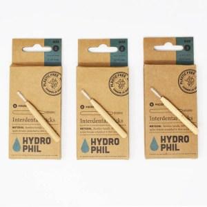 Cepillo interdental sin plástico HYDROPHIL