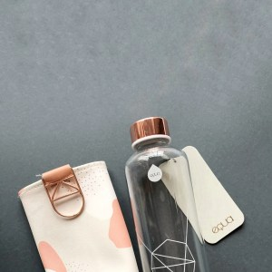 Botellas reutilizables de cristal EQUA