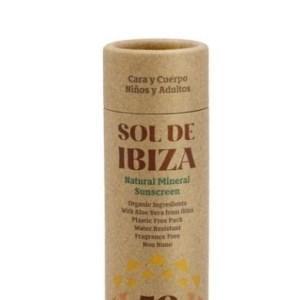 Stick solar ecológico SPF 50 SOL DE IBIZA