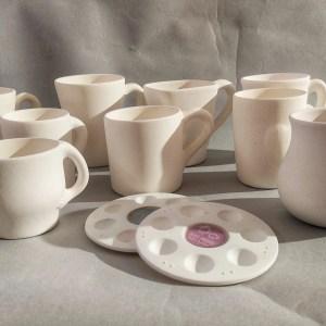 Taller adultos decoración cerámica con esmaltes