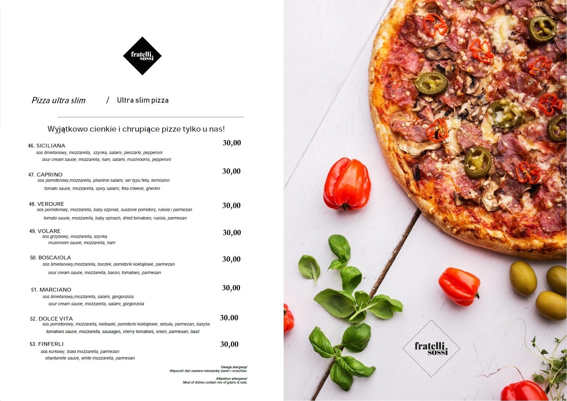 10. pizza ultra slim