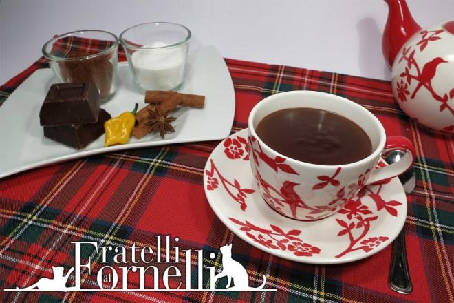 cioccolata calda fondente