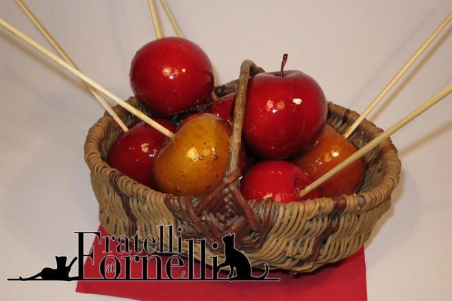 mele caramellate di biancaneve