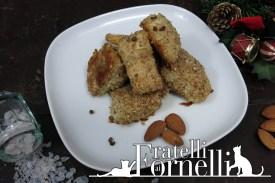 Perch chunks in almond crust