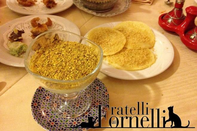marrakesh arabo ristorante dolci