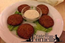 I falafel con salsa allo yogurt