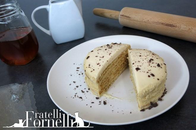 mini medovik torta russa al miele