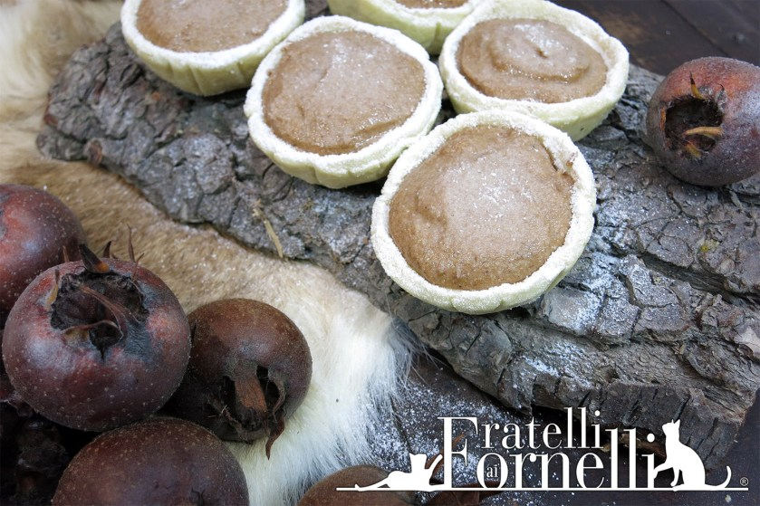 Renaissance medlar tartlets recipe fratelli ai fornelli we have learned how to clean the medlar and make a delicious jam we can prepare a delicate tart straight from 1653 yes you read that right a recipe forumfinder Image collections