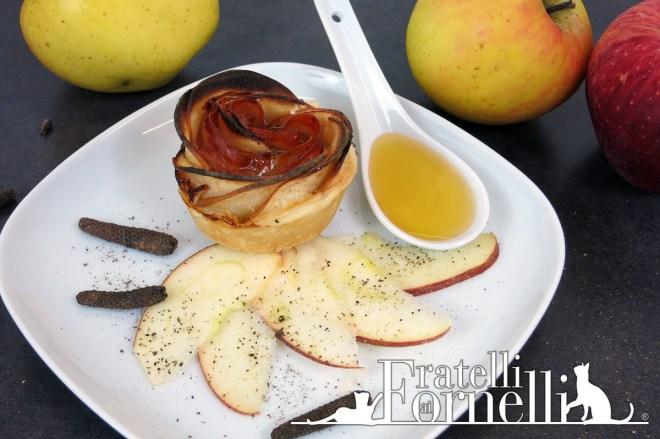 rose mele prosciutto apple ham