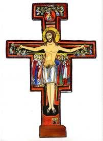 Croix de Saint Damien - Couleur