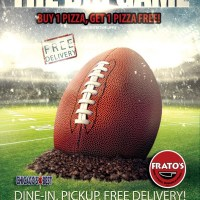 Big Pizza Special for the Big Game!