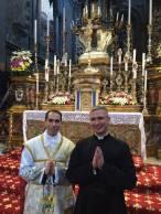 Padre Heitor Matheus, do Instituto Cristo Rei, ordenado em 7 de julho de 2016 pelo Cardeal Burke.