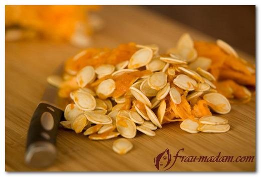 Молотые тыквенные семечки с кожурой польза и вред. Витаминная тыква: как использовать мякоть, семечки и кожуру