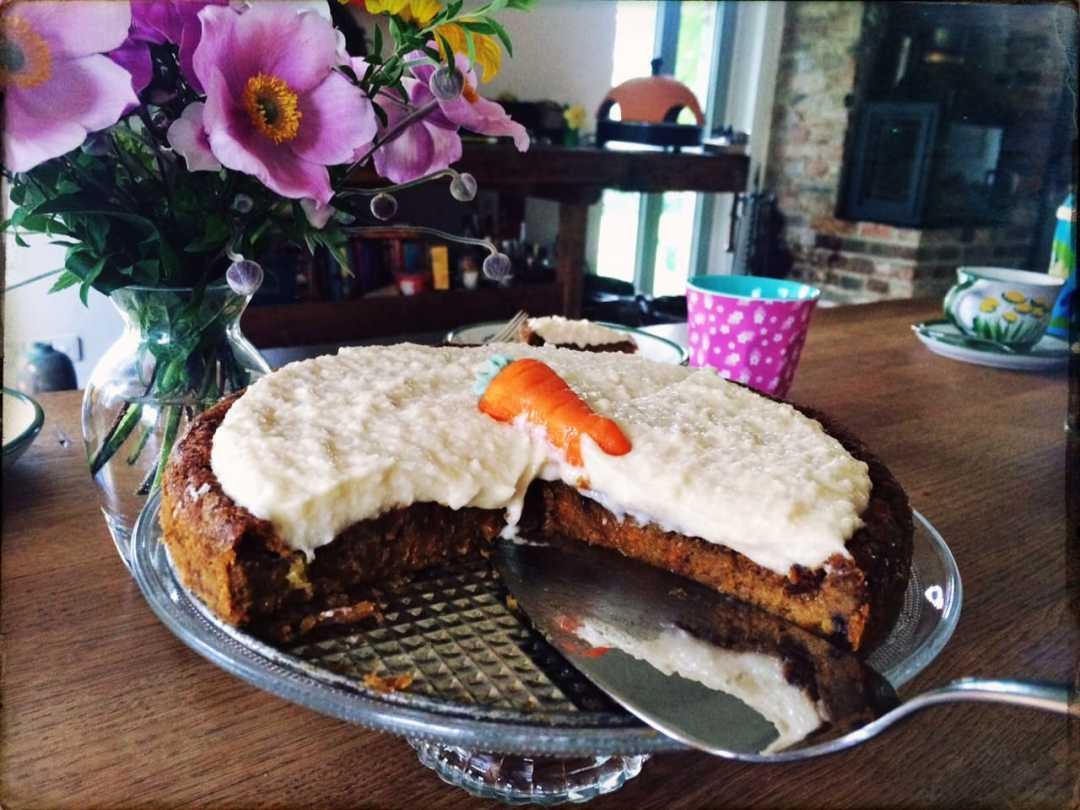 Rezept Karottenkuchen Vegan Unser Crazy Carrot Cake
