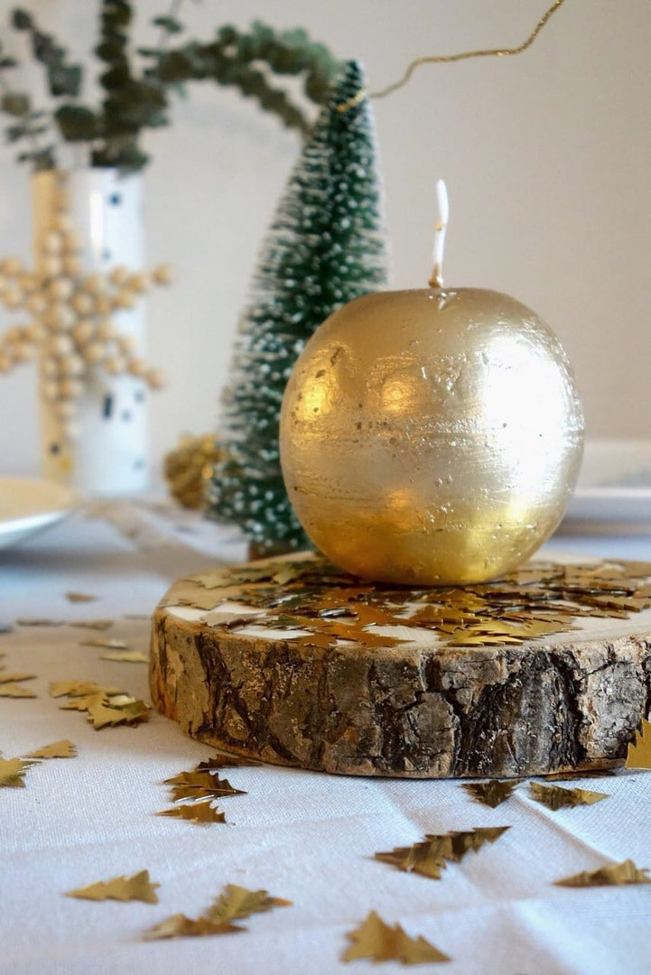Was Koche Ich An Weihnachten.Einfach Aber Schick Weihnachtliche Tischdeko