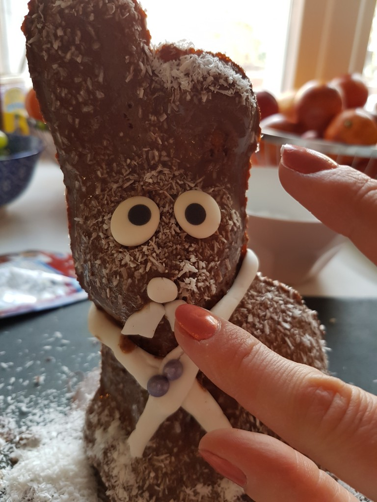 osterhasen backen