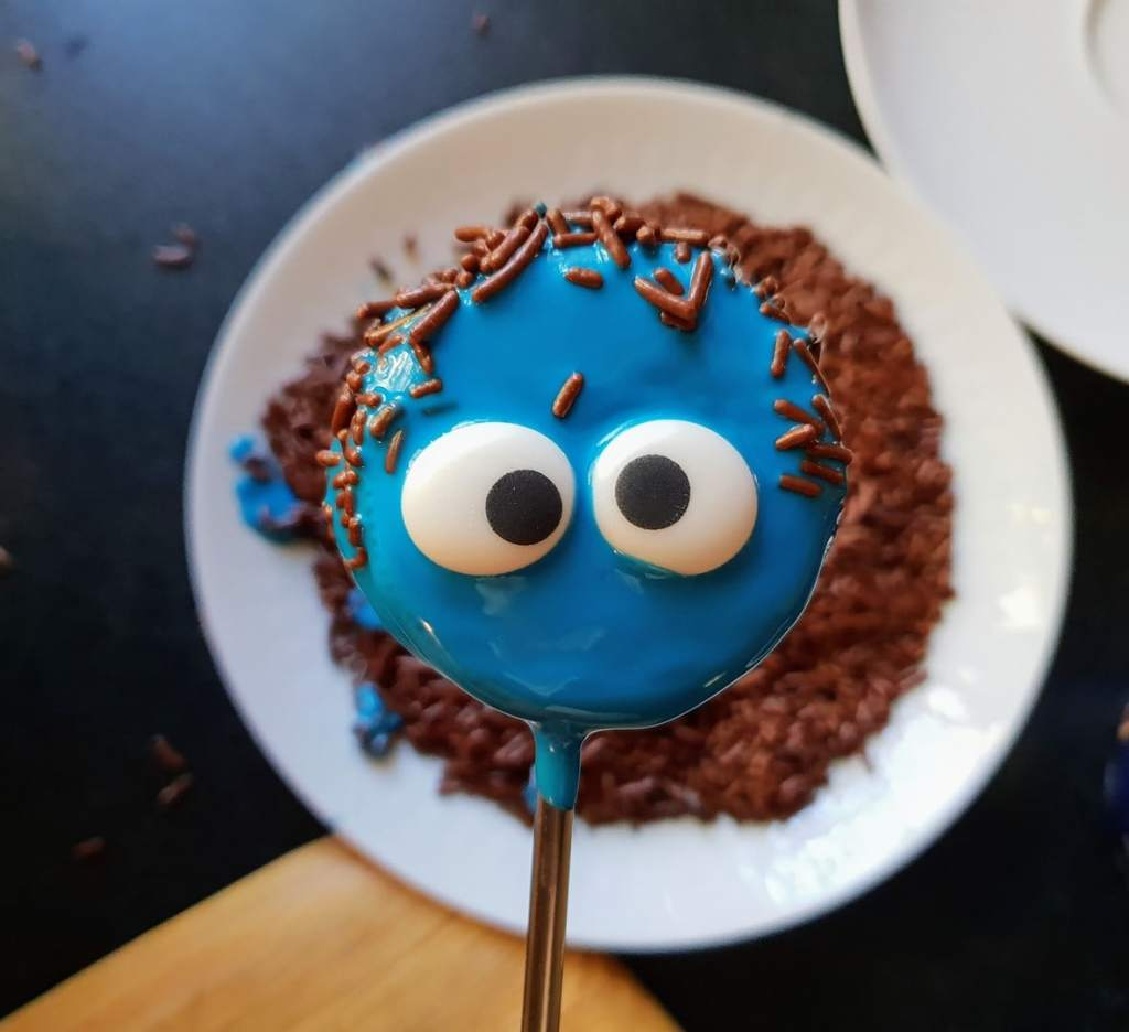 Cake Pops Rezept Ohne Backen Halloween Monster Aus Oreo Keksen