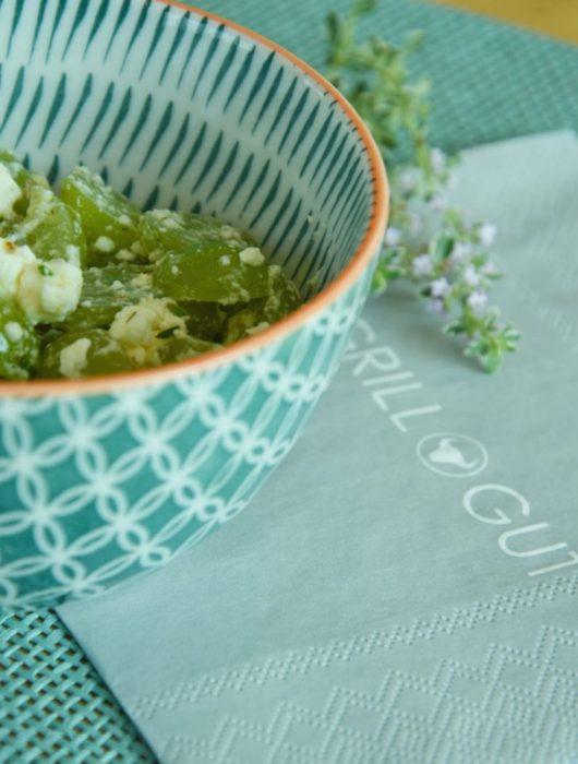 Feta Trauben Salat