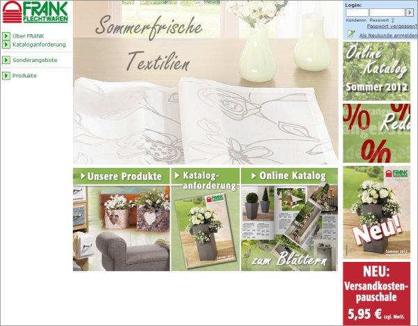 Tipp Onlineshop Frank Flechtwaren