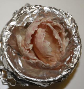 rosa-weiße Tulpe zusammensetzen