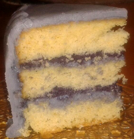 Torte aufgeschnitten