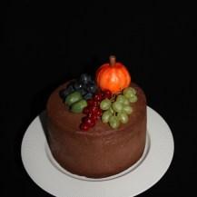 Herbsttorte Schoko mit Früchten