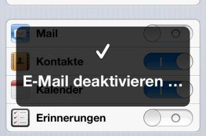 emaildeaktivieren