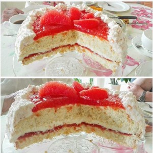 Grapefruit Torte