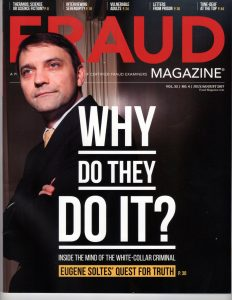Fraud Magazine Cover (July/August 2017)