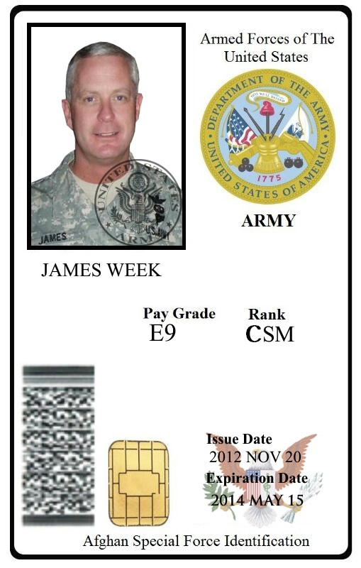 Retired Military Identification Retired Card Military