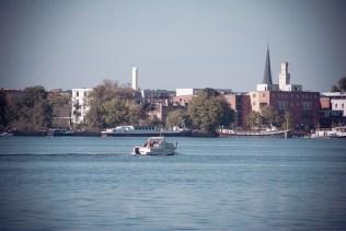 Blick nach Potsdam West