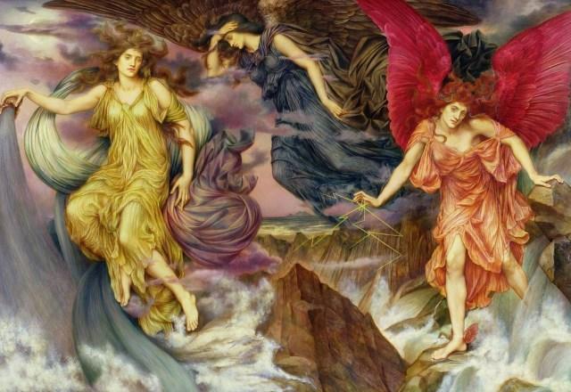 Evelyn de Morgan: The Storm Spirits