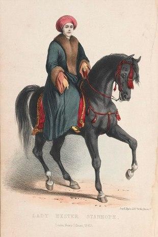 frauenfiguren lady hester stanhope