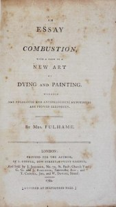 frauenfiguren elizabeth fulhame essay on combustion