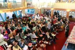 Publikum bei der Podiumsdiskussion. Foto: Kathrin Erbe