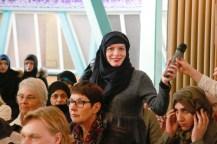 Nachfrage aus dem Publikum. Foto: Kathrin Erbe