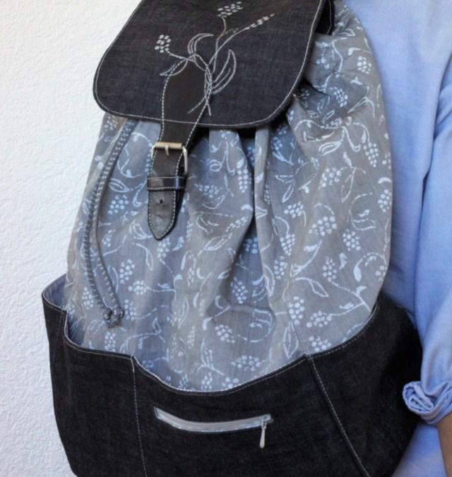 Ein Rucksack nähen nach meinen Wünschen