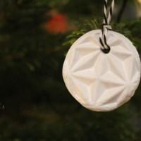 DIY Weihnachtsbaumanhänger aus Ton – Weihnachtsschmuck nach Deinen Wünschen