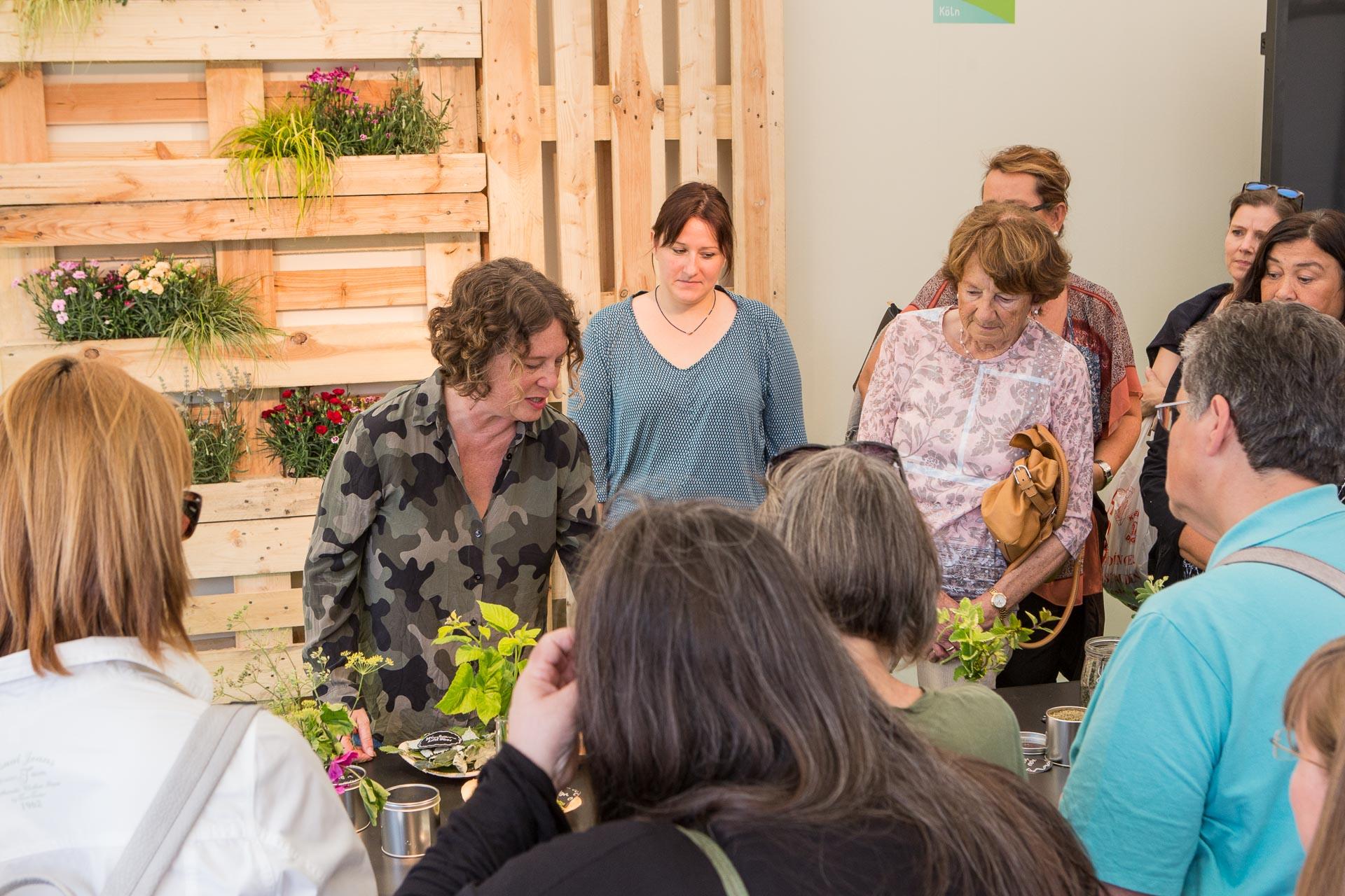 workshop Kräutertee tag des Gartens
